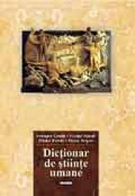 Dictionar de stiinte umane