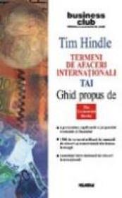 Termeni De Afaceri Internationali - Tai