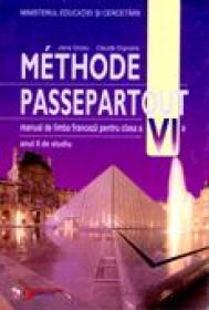Methode Passepartout. Limba Franceza. Manual Pentru Clasa A Vi-a