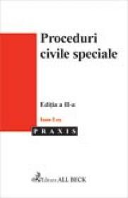 Proceduri Civile Speciale, Editia A Ii-a