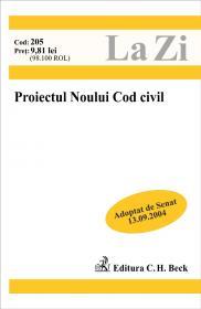 Proiectul Noului Cod Civil