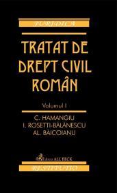 Tratat De Drept Civil Roman Vol. I, Ed. A Ii-a