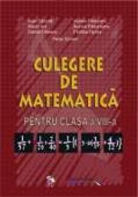 Culegere De Matematica. Clasa A Viii-a