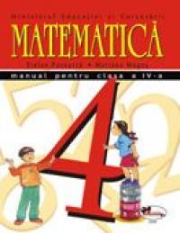 Matematica - Manual, Clasa A Iv-a