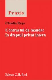 Contractul de mandat in dreptul privat intern