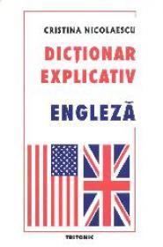 Dictionar explicativ engleza