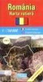Romania - harta rutiera