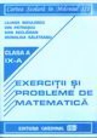 Exercitii si probleme de matematica pentru clasa a IX-a