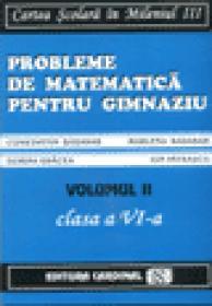 Probleme de matematica pentru gimnaziu Vol. II (Clasa a VI-a)