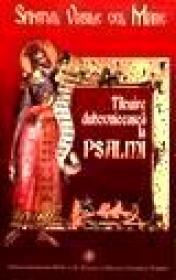 Ticuire duhovniceasca la psalmi