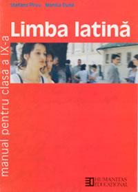 Limba latina. Manual pentru cl a IX-a