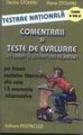 Comentarii si teste de evaluare la limba si literatura romana cl.VII