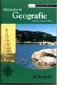 Memorator de geografie, clasa a VIII-a