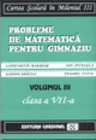 Probleme de matematica pentru gimnaziu Vol. III (Clasa a VII-a)
