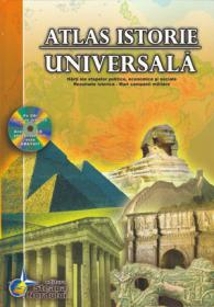 Atlas istorie universala - Contine CD