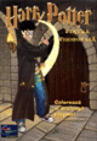 Harry Potter - Coloreaza si dezleaga enigme