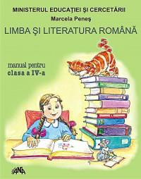 Limba si literatura romana - manual pentru clasa a IV -a