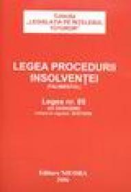 Legea procedurii insolventei (Falimentul)
