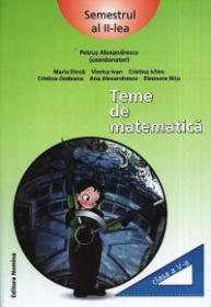 Teme de matematica. Clasa a V-a, semestrul al II-lea