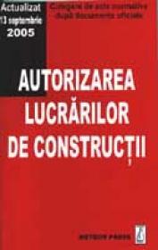 Autorizarea lucrarilor de constructii