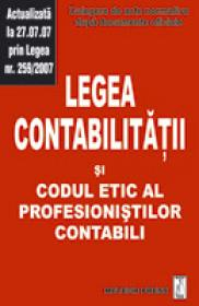 Legea contabilitatii si codul etic al profesionistilor contabili