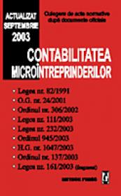 Contabilitatea microintreprinderilor