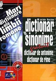 Dictionar de sinonime. Dictionar de antonime. Dictionar de rime (CD-ROM)