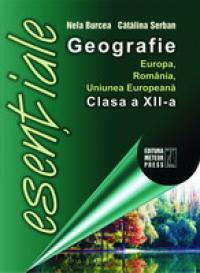 Geografie Europa, Romania, Uniunea Europeana - clasa a XII-a