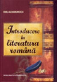 Introducere in literatura romana