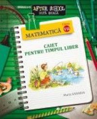 MATEMATICA. CAIET PENTRU TIMPUL LIBER. CLASA A VII-A