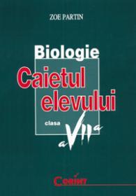 Biologie - caietul elevului clasa a VII-a