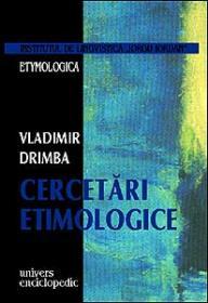 Cercetari etimologice