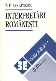 Interpretari romanesti