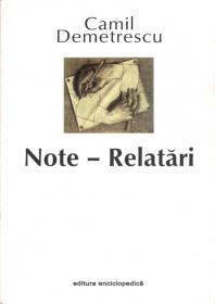 Note - Relatari