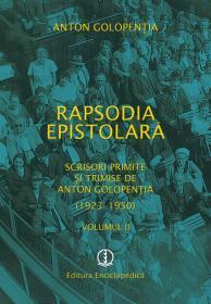 Rapsodia epistolara. Vol. II