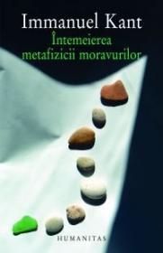 Intemeierea metafizicii moravurilor