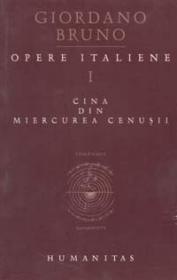 Opere Italiene I. Cina din miercurea cenusii