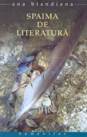 Spaima de literatura