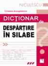 Dictionar de despartire in silabe