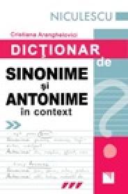 Dictionar de sinonime si antonime in context
