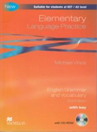 Elementary Language Practice with key +CD