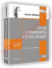 Justitie si jurisprudenta in statul de drept