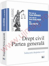 Drept civil. Partea generala - Subiectele dreptului civil