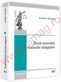 Efectele neexecutarii contractelor sinalagmatice