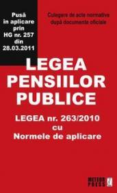 Legea pensiilor publice
