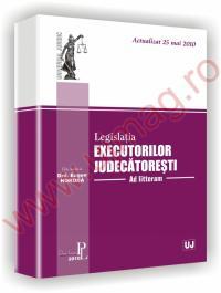 Legislatia executorilor judecatoresti
