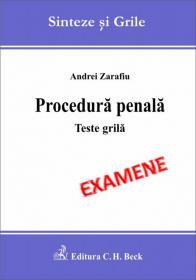 Procedura penala. Teste grila