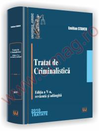 Tratat de criminalistica. Editia a V-a