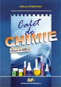 Caiet de chimie, clasa a VII-a