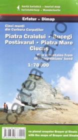 Cinci munti din Curbura Carpatilor - Piatra Craiului - Bucegi - Postavarul - Piatra Mare - Ciucas